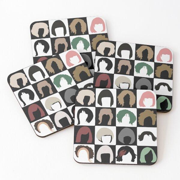 Moira Wigs Coasters (Set of 4)