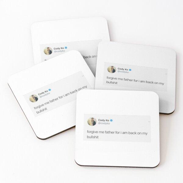 Tweet  Coasters (Set of 4)