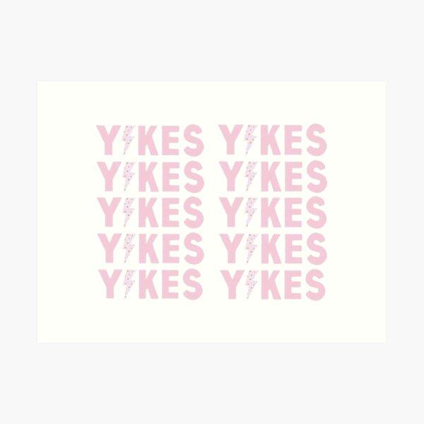 yikes tapestry 1 Art Print