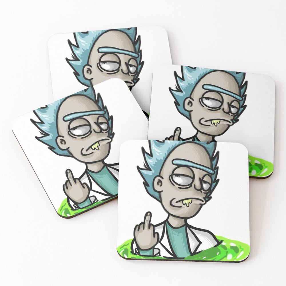 Rick Coasters (Set of 4)