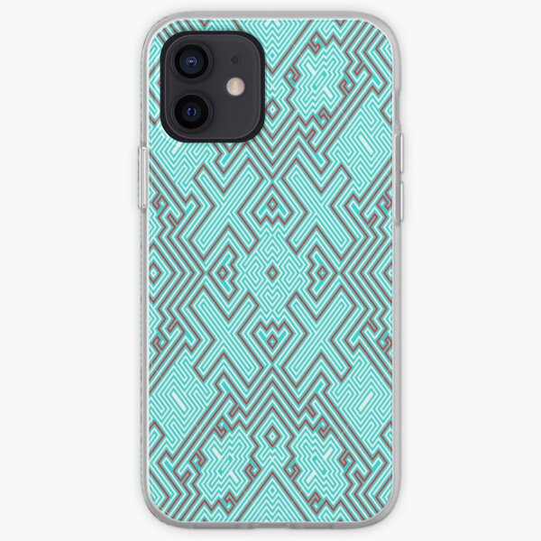 To buy fabric with the Ukrainian ornament - тканина купити українським орнаментом iPhone Soft Case