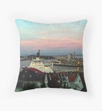 """Ocean View - Stavanger, Norway"" Throw Pillow"
