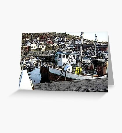 """Fishing Boat - Ski, Norway"" Greeting Card"
