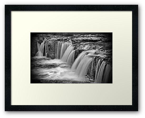 Aysgarth Falls, North Yorkshire by Sandra Cockayne