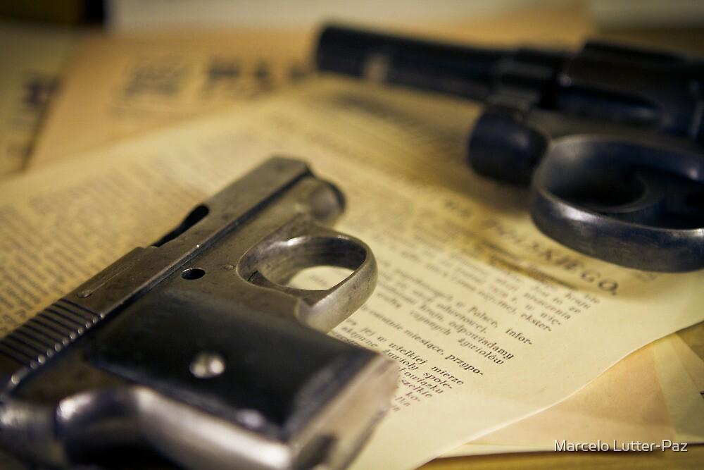 WW2 guns by MarceloPaz