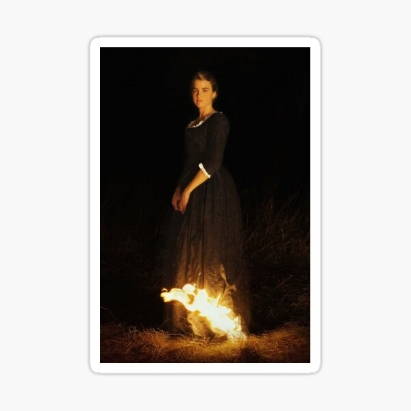portrait of a lady on fire textless Sticker