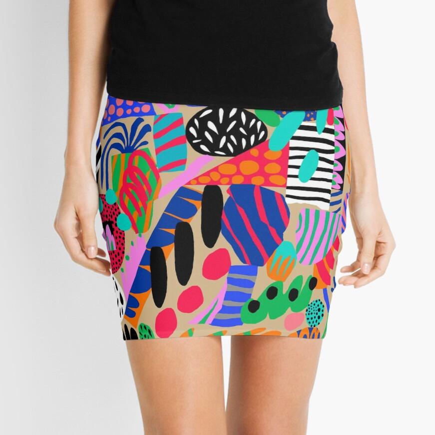 Space Garden Mini Skirt
