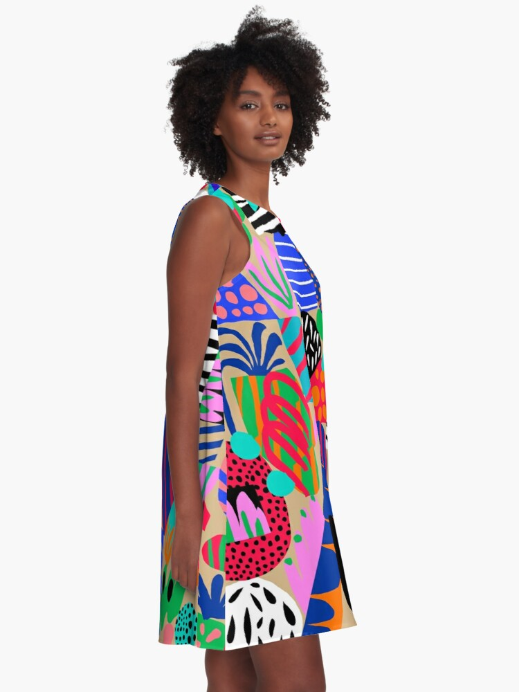 Alternate view of Space Garden A-Line Dress