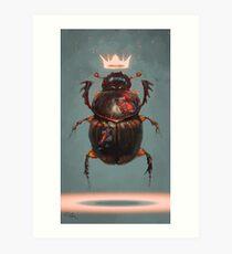 Lámina artística Escarabajo rey