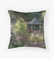 Honor Heights Park Throw Pillow