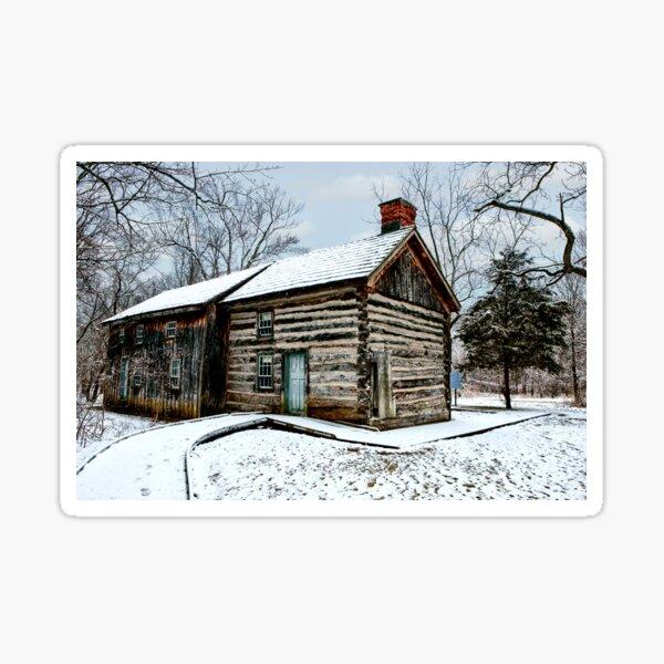 Delaurier Homestead Winter Sticker