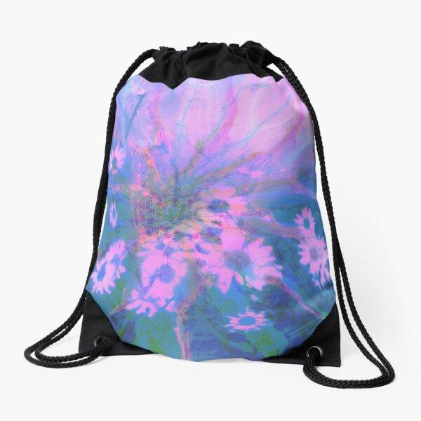 Summer morning Drawstring Bag