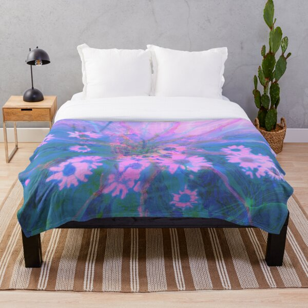 Summer morning Throw Blanket