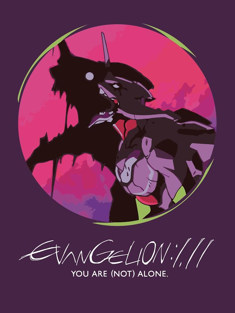 EVA 01 - T-shirt d'Evangelion / affiche / caisse de téléphone / tasse by zehel