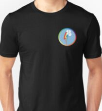 Rainbow Dash Cutie Mark (Bordered & Colored) T-Shirt