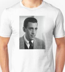 J.D. Salinger Black and White Portrait T-Shirt