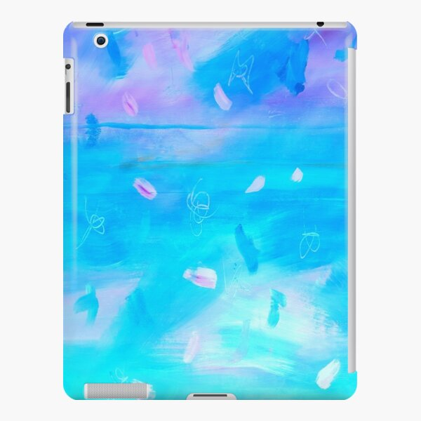 Abstract Blue Painting 1 iPad Snap Case