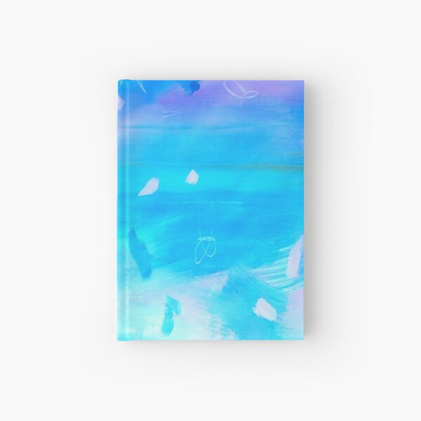 Abstract Blue Painting 1 Hardcover Journal
