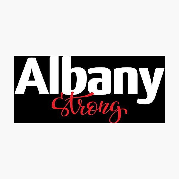 Albany Strong New York Raised Me Photographic Print