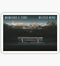 Mumford and Son's Wilder Mind Sticker