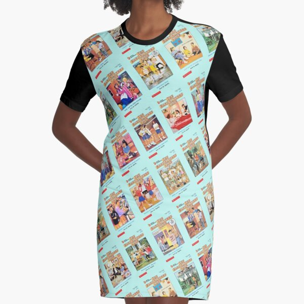 Say Hello to Your Friends Graphic T-Shirt Dress