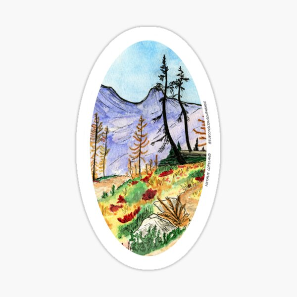 Larch March Sticker