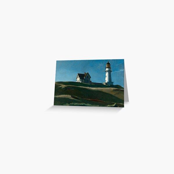 Lighthouse Hill - Edward Hopper (1927) Greeting Card