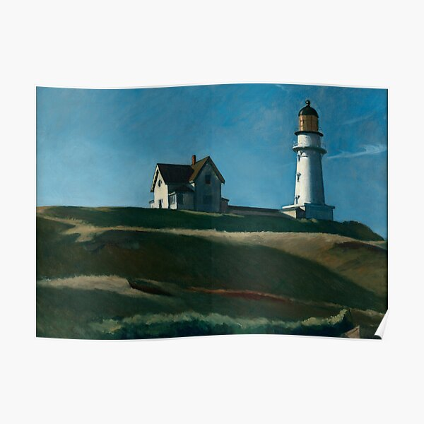 Lighthouse Hill - Edward Hopper (1927) Poster