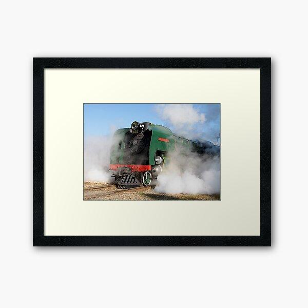 ~ Leaving the Station ~ Framed Art Print