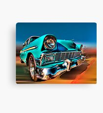 Chevy Frontend Canvas Print