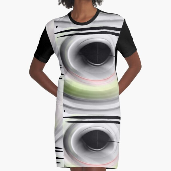 Smooth And Creamy White Part 2 Graphic T-Shirt Dress