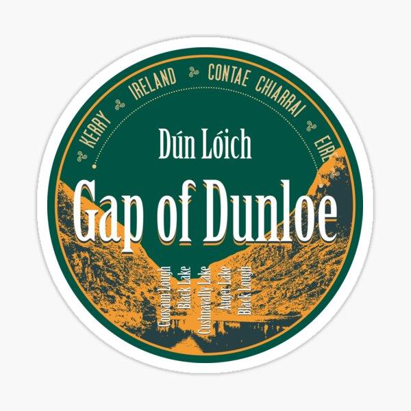Gap of Dunloe 2 - Ireland, Motorcycle T-Shirt + Sticker Sticker