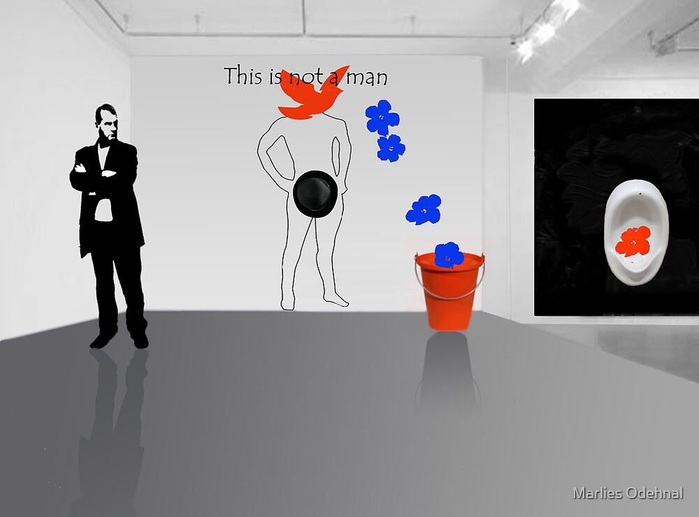 This is not a man - between Warhol and Magritte by Marlies Odehnal