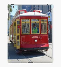 Canal Street Cable Car iPad Case/Skin