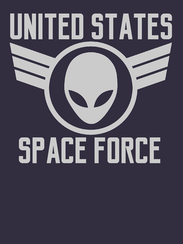 United States Space Force Military Alien Patch Shirt Gear by DynamicDesign