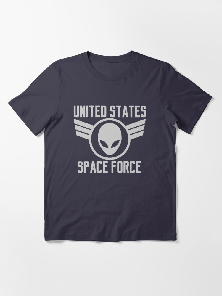 Alternate view of United States Space Force Military Alien Patch Shirt Gear Essential T-Shirt