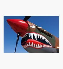 Flying tiger plane Photographic Print