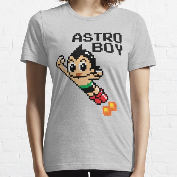 Astro Boy Pixellated Character Essential T-Shirt
