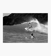 Surfing BVI Photographic Print