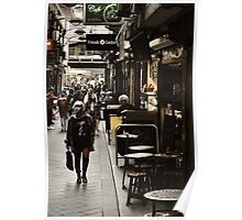 Streets of Melbourne 6 Poster