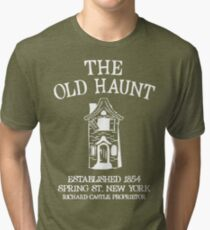 CASTLE'S BAR THE OLD HAUNT Tri-blend T-Shirt