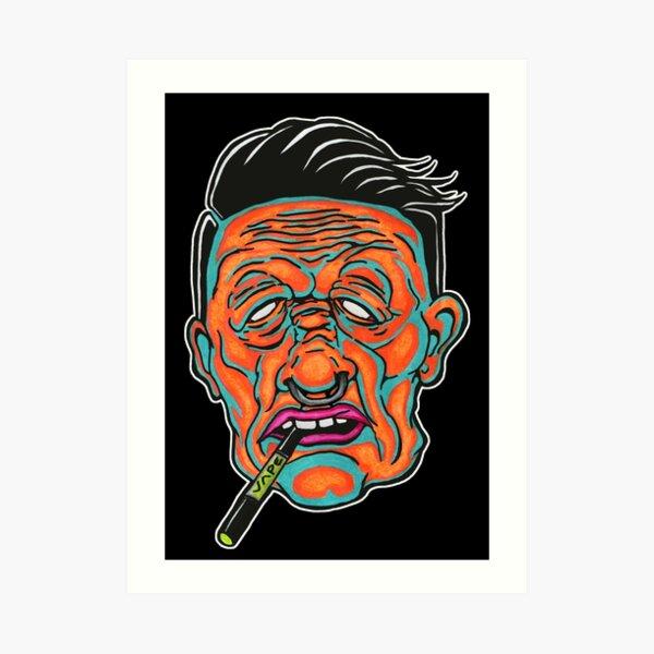 Johnny Vapor Art Print