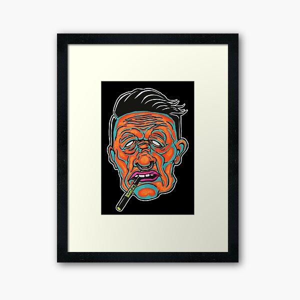 Johnny Vapor Framed Art Print