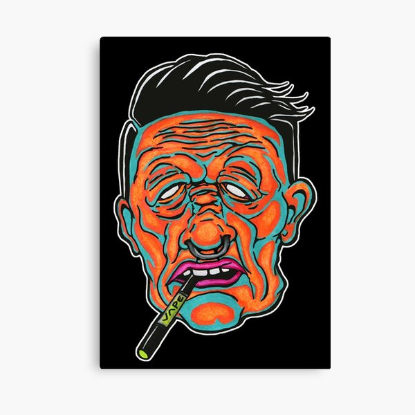 Johnny Vapor Canvas Print