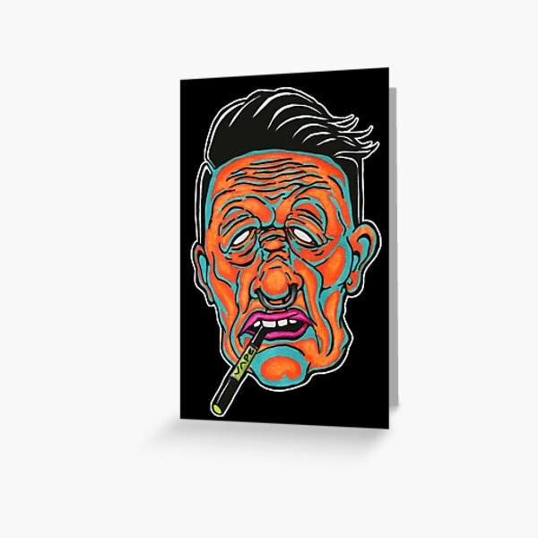 Johnny Vapor Greeting Card