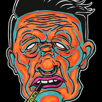 Johnny Vapor by redfeatherone