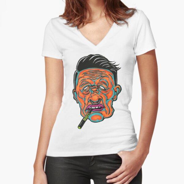 Johnny Vapor Fitted V-Neck T-Shirt