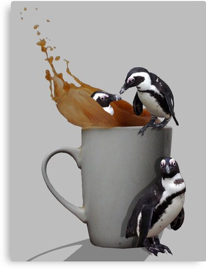 Tea Break - Pick up a Penguin by Susie Hawkins
