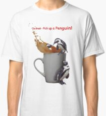 Tea Break - Pick up a Penguin! Classic T-Shirt