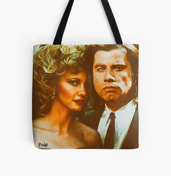 Sandy & Vincent All Over Print Tote Bag